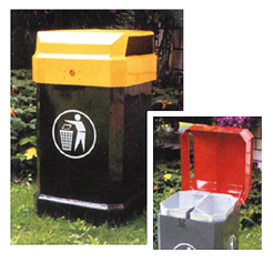 Müllsackständer und Abfallsammler