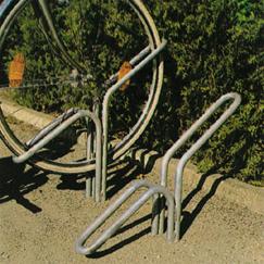 Fahrradständer und Anlehnbügel